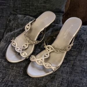 A. Gianetti Dress Wedge Sandals, No Size